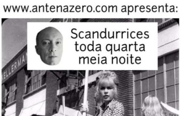 """""""Scandurrices"""": Edgard Scandurra estreia hoje programa na web radio AntenAZero"""