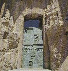 Puerta Sagrada Familia