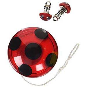 Set Yo-yo y Pendientes de Ladybug - mundomariquita.com