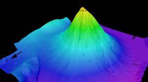 Enorme Volcán Submarino Descubierto en Indonesia