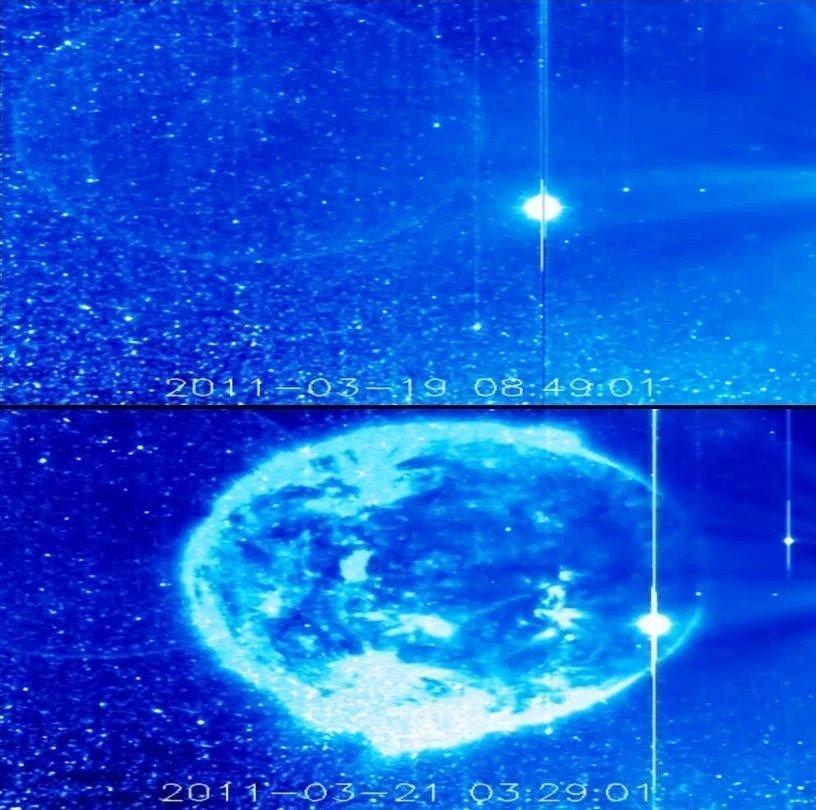 """Sombras """"black out"""" en el Sol – ¿un planeta gaseoso?"""
