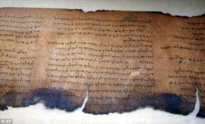70 Libros de metal encontrados en una cueva en Jordania