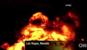 El fuego de la explosión de un transformador ilumina Las Vegas – más de 39 Incidentes con transformadores el mes pasado