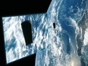 Foto NASA – ¿Basura Espacial?