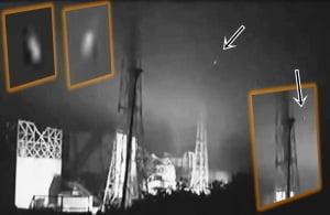 OVNIs vistos durante una nueva gran explosión en Fukushima, 14 de junio 2011