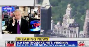 El Terremoto de 5.9 de Virginia se sintió en Washington, Nueva York, Carolina del Norte – 23 de agosto 2011