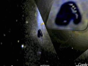 Objeto desconocido gigante descubierto en Google Sky – 04 de agosto 2011