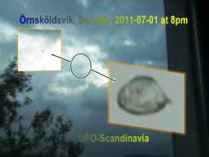 OVNI en Ornskoldsvik, Suecia – 01 de julio 2011