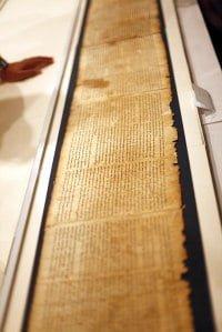 Los Manuscritos del Mar Muerto online, 27 septiembre 2011