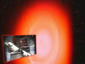Experimento espacial de la NASA capturado en la cámara de la ISS, 17 de agosto 2011