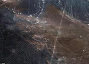 Misteriosas líneas gigantes descubiertas en el desierto de Gobi