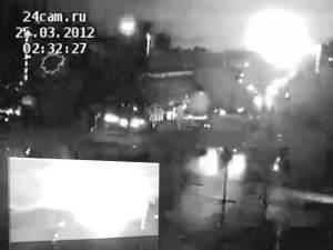 Boom misterioso y brillante destello en Krasnoyarsk, Rusia – 25 de marzo 2012