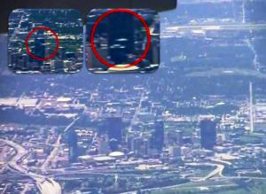 OVNIs sobre DALLAS – Filmado en avión – 21 de marzo 2012