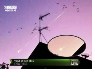 'Increíble' Meteoro visto en los cielos de Nueva Zelanda – 02 de abril 2012