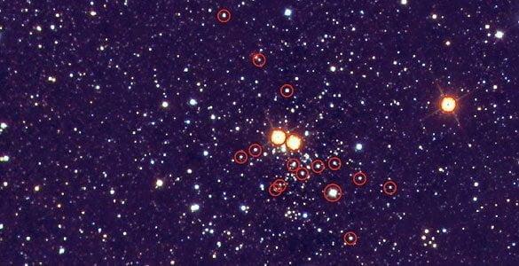 Investigadores españoles descubren un cúmulo estelar masivo cercano a la Tierra