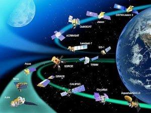 90 instrumentos de observación de la Tierra en satélites de la NASA y del NOAA en riesgo de colapso, 2012