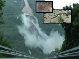 Montaña suiza se derrumba y se 'oculta' en el valle