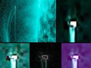 """OVNIs gigantes (""""luminosos"""") al lado del sol – 22-25 de julio, 2012"""