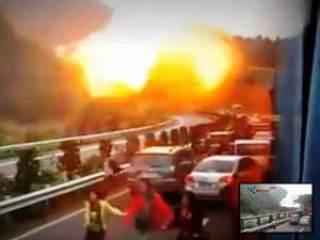 Explosión mortal en tunel de China