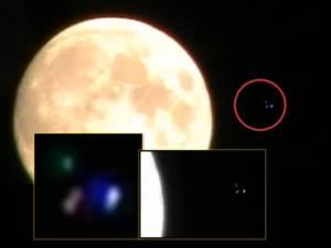 OVNI instantáneo cerca de la Luna – 28 de octubre 2012
