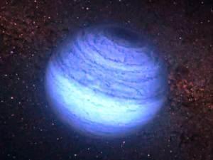 Planeta alienígena solitario encontrado sin estrella
