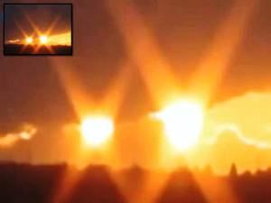 Dos Soles se reportaron en las noticias de Rusia – 25 de noviembre 2012