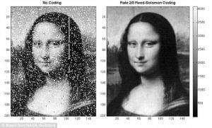 Científicos de la NASA irradian la Mona Lisa a la Luna con láser