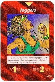 Juego de cartas Illuminati: Carta número 291 corredores de maratón – 15 de abril 2013