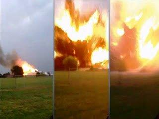 Vídeo de la explosión de la planta de fertilizantes en Waco – 17 de abril 2013