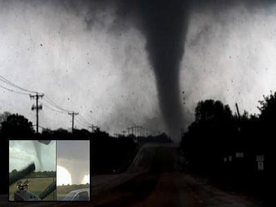 Masivo y destructivo tornado a través de Texas – 15 de mayo 2013