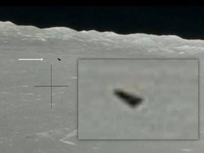Impresionantes anomalías y objetos que vuelan por encima de la superficie de la Luna – 19 de mayo 2013