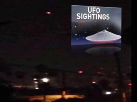 Avistamientos de OVNIs desde Sacramento a Hollywood