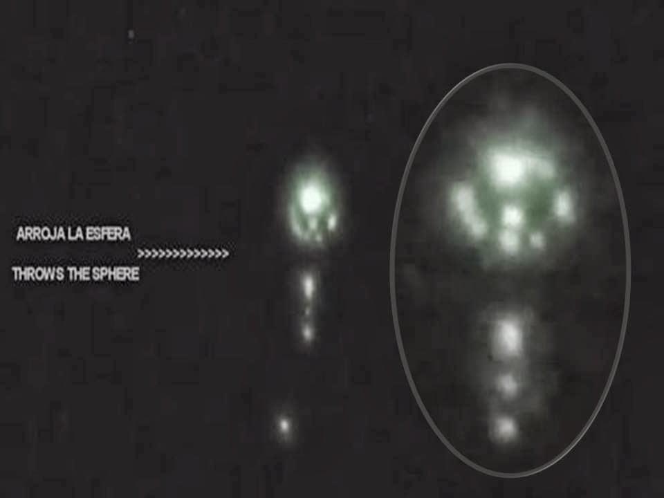 Luminoso OVNI esférico sobre Brasil – 24 de enero 2014