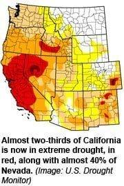 California declara emergencia por la sequía