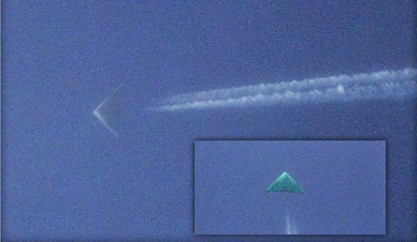 OVNI triangular fotografiado en Wichita, Kansas – Posible avión secreto