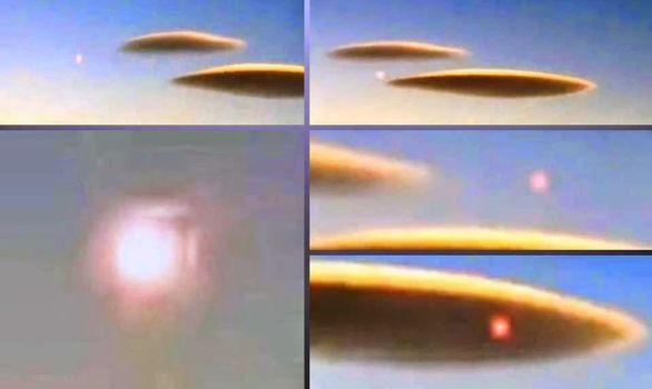 Nube expulsa esfera sobre Maricunga, Chile