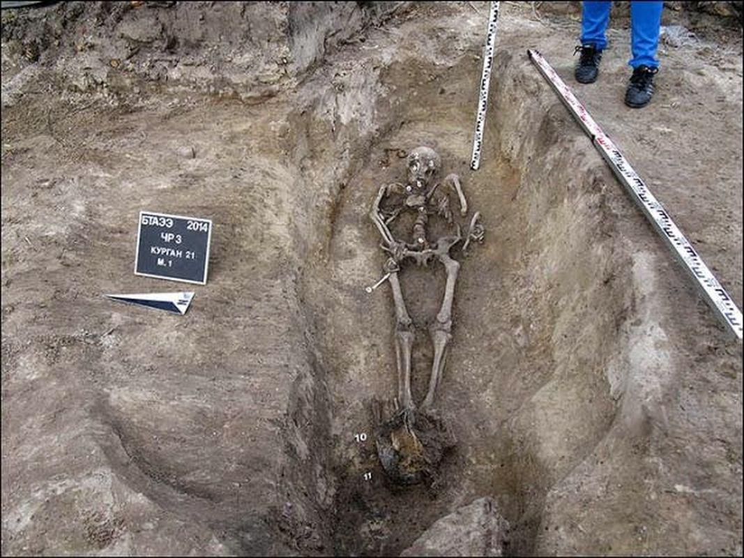 Poderoso héroe guerrero siberiano revela sus secretos de hace casi 1.000 años