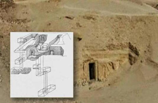 Equipo arqueológico descubre la mítica Tumba de Osiris