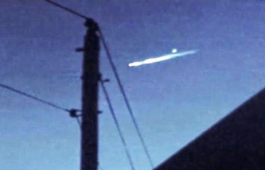 OVNI lanza un orbe en el sur de California