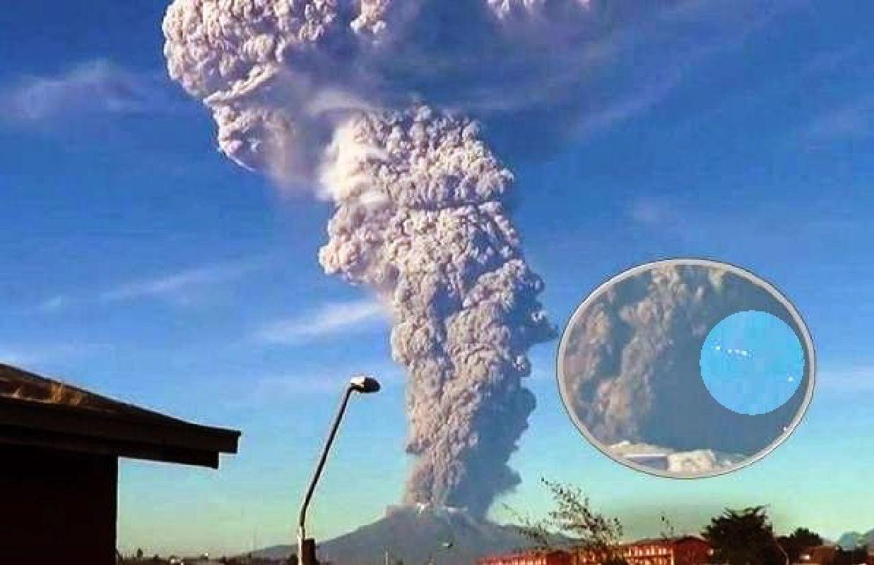 Enorme erupción en el volcán Calbuco