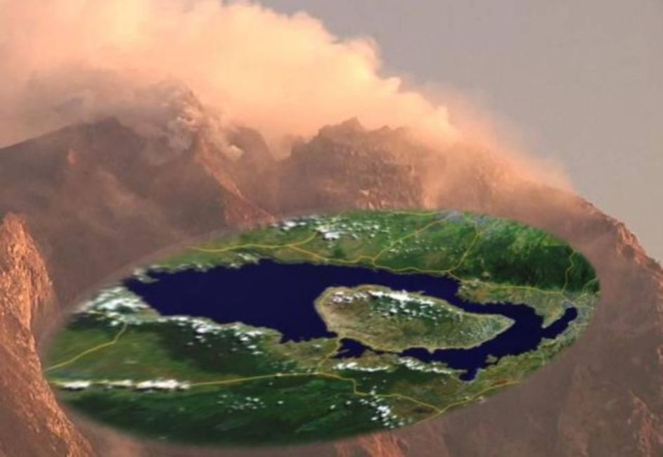 Supervolcán Lago Toba vuelve a la vida