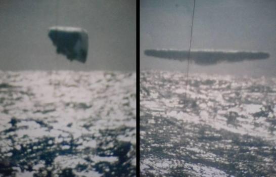 Fotografías de OVNIs tomadas desde un submarino