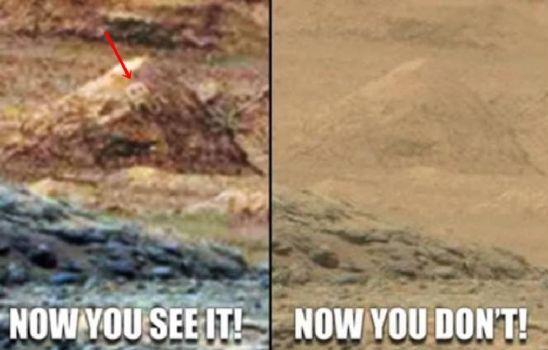 ¿Petroglifo encontrado en una pirámide de Marte?