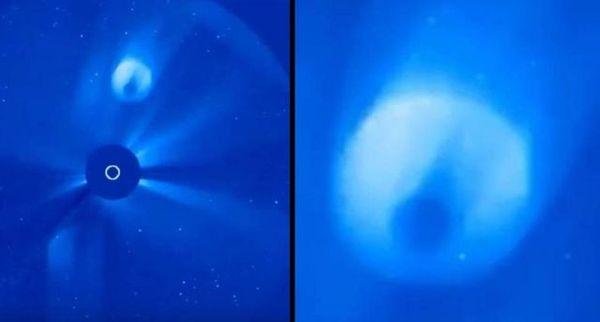 ¿Qué es esto? ¿Cometa del tamaño de un planeta?