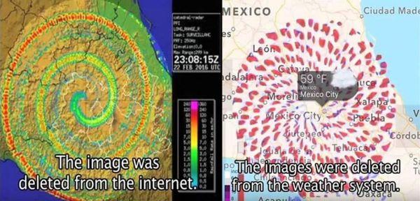Vórtice en espiral aparece en Popocatépetl