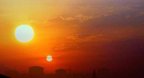 """¿Es el """"segundo sol"""" un sol creado artificialmente?"""