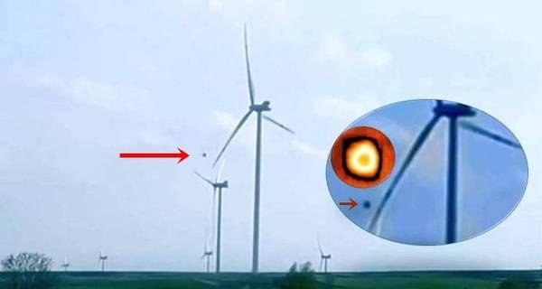 OVNI apaga turbinas de viento en Majdan, Polonia
