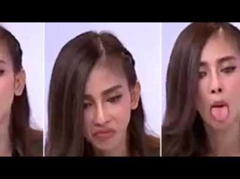 Modelo Tailandesa Poseída por un demonio
