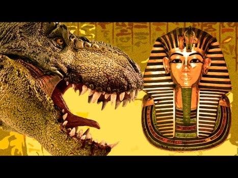 ¿Ayudaron Los DINOSAURIOS a Construir Las PIRAMIDES de EGIPTO?