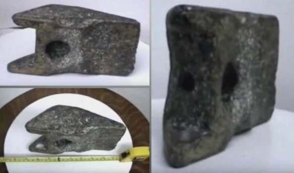 Pieza de aluminio de 250.000 años puede ser parte de un OVNI